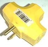 Electric Adapter  3 Outlet
