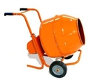 5 CuFt Wheelbarrow Style Electric Cement Mixer