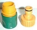 2 Pcs Garden Hose Connector Set