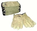 1 Dz. (12 Pairs) Leather Work Gloves K/W