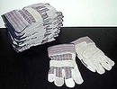 1 Dz. (12 Pairs) Leather Palm Work Gloves