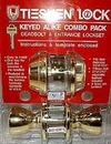 Combo Entrance Door Lock & Dead Bolt Lock \ Single -