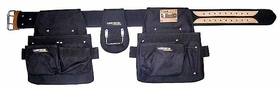 Carpenters Rig - Nylon Double Pouch RWT#001-A