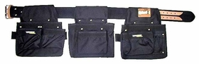 Carpenters Rig - Nylon Triple Pouch RWT#001-B