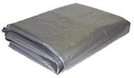 8 Ft. x 10 Ft.  Silver Poly Tarp