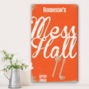 JDS CA0035 Family Mess Hall Personalized Canvas Print