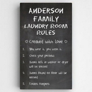 JDS CA027 Laundry Room Rules