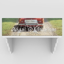 JDS CA757 Personalized Just Married Canvas Prints