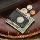 JDS Personalized Leather Magnetic Money Clip