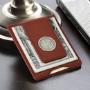 JDS GC1074 Leather Wallet and Money Clip