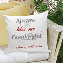 JDS GC1107 Couples & Love Personalized Throw Pillows