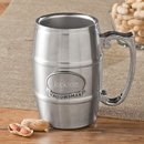 JDS GC1135 Personalized Tankard with Pewter Medallion