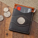 JDS GC1261 Personalized Two-Toned Leather Wallet