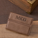 JDS GC1264 Personalized Mocha Business Card Holder