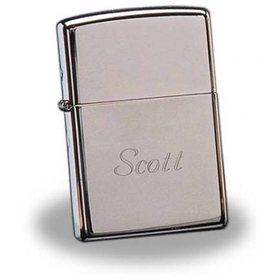 JDS Zippo High Polish Chrome Lighter