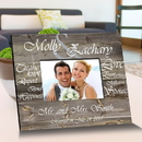 JDS GC1543 Tying The Knot Wooden Picture Frame