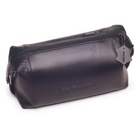 JDS Personalized Leather Travel Kit