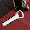 JDS GC195 Personalized Silver Plated Bottle Opener
