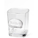 JDS Personalized Shot Glass with Pewter Emblem