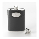 JDS Personalized 8 oz. Leather Flask