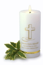 JDS Personalized Baptismal Candle