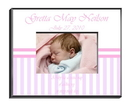 JDS Personalized Baby Girl Picture Frame