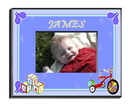 JDS Personalized Boy's Blocks Picture Frame