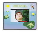 JDS Personalized Frog Picture Frame