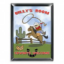 JDS Personalized Child's Cowboy Room Sign for Boys