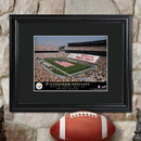 JDS Personalized NFL Stadium Print with Wood Frame