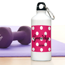 JDS Personalized Polka Dot Water Bottle