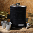 JDS Personalized Executive Leather Flask
