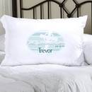 JDS Personalized Blue Celtic Blessings First Communion Pillow Case