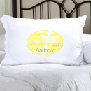 JDS Personalized Yellow Celtic Blessings Confirmed Pillow Case
