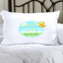 JDS Personalized Sunshine and Butterflies Confirmed Pillow Case