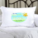 JDS Personalized Sunshine and Butterflies First Communion Pillow Case