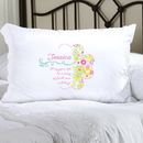 JDS Personalized Cheerful Blossoms Pillow Case