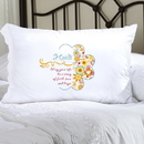 JDS Personalized Sunny Flowers Pillow Case