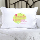 JDS Personalized Morning Prayer Pillow Case