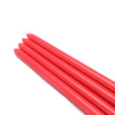 "Jeco CEZ-071_12 12"" Ruby Red Taper Candles (144pcs/Case) Bulk"