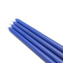 """Jeco CEZ-077 12"""" Blue Taper Candles (1 Dozen)"""