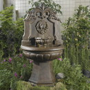 Jeco FCL018 Copper Lion Head Outdoor/Indoor Water Fountain