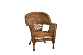 Wicker Lane W00205-C Honey Wicker Chair