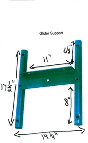 Jensen Swing Glider Support Only - Residential