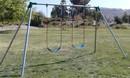 Jensen Swing S82 Standard 8' High - 2 S181 Swings - 1 Bay - EFF2 - Residential
