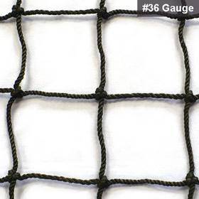Just For Nets BANN36BSB10X10 JFN #36 Nylon Baseball Batting Net, 10' x 10'
