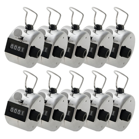 GOGO Hand Tally Counter, Metal Mechanical Counter, Lap Counter Bulk (Wholesale Lot), Price/100 pcs