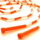 GOGO 16ft Segmented Jump Rope Orange, Price For 6 pcs