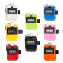 GOGO 8 Pcs Carnival Tally Counter, Plastic Tally Counter Clicker, Mixed Colors