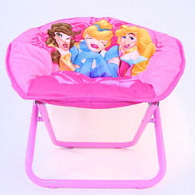 Disney Princess Pink Foldable Mini Saucer Chair Toy